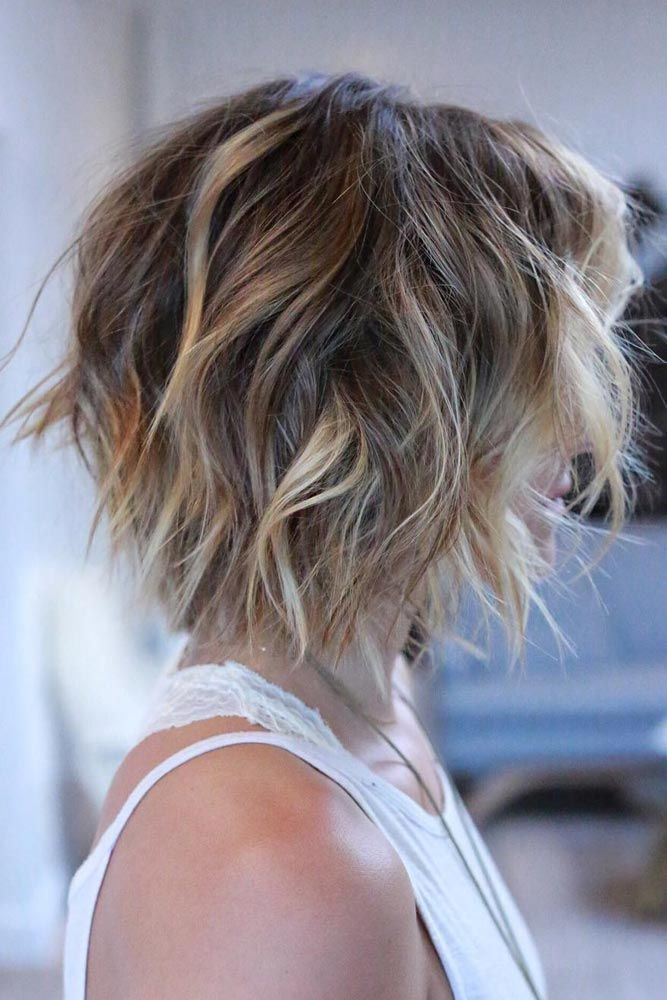 Shaggy Bob, A nice short haircut can make your facial features more distinctive. See our selection of short haircuts for women.