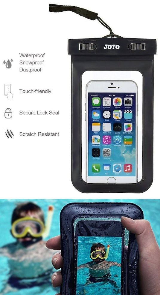 Cool - on Amazon - it read:  Waterproof Phone Case -- 17 Awesome Products That Will Make This Your Best Summer Ever