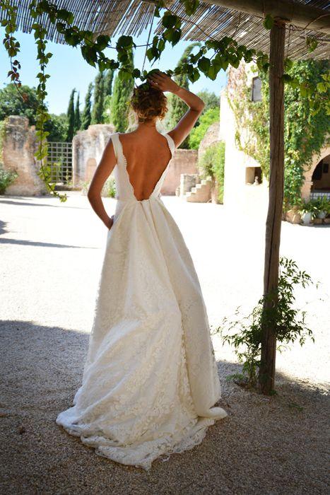 #Vestido de novia de Pol Nuñez. Adelanto de la #colección2014.