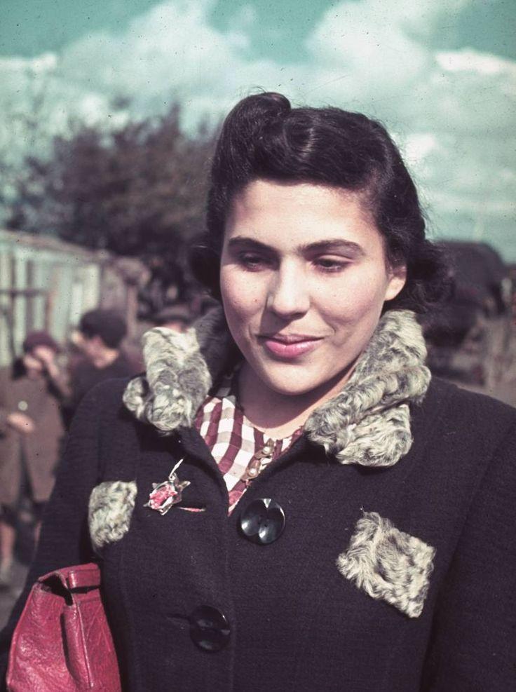 Jewish Woman, Kutno Ghetto, Poland