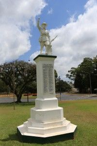 Atherton Cenotaph - War Memorial - ANZAC Trail Place -   Atherton Tablelands   Queensland   Australia