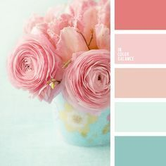 Color inspiration for design, wedding or outfit. More color pallets on http://color.romanuke.com