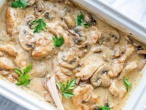 Mustáros gombás csirkemell, ez valami fenségesen finom étel! Itt a recept: | Ütőskutyák