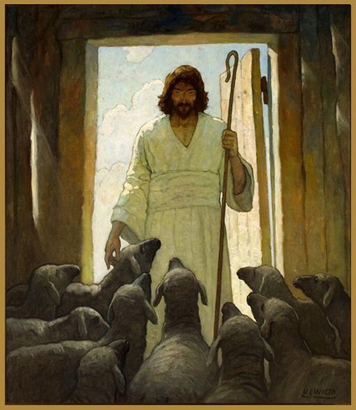 'The Good Shepherd'  (ca. 1926-1927) by N.C. Wyeth by Plum leaves, via Flickr