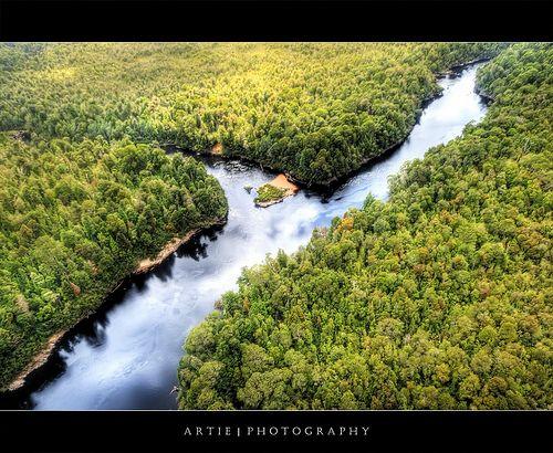 Franklin & Gordon folyók, Tasmania