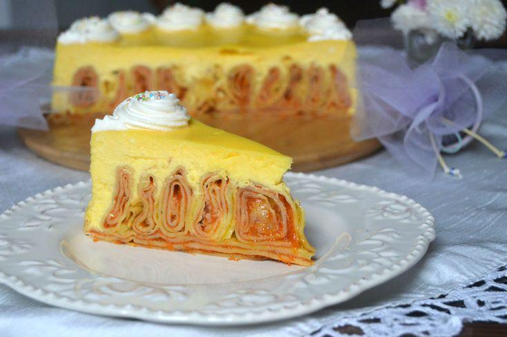 Cheesecake cu clatite | Miremirc