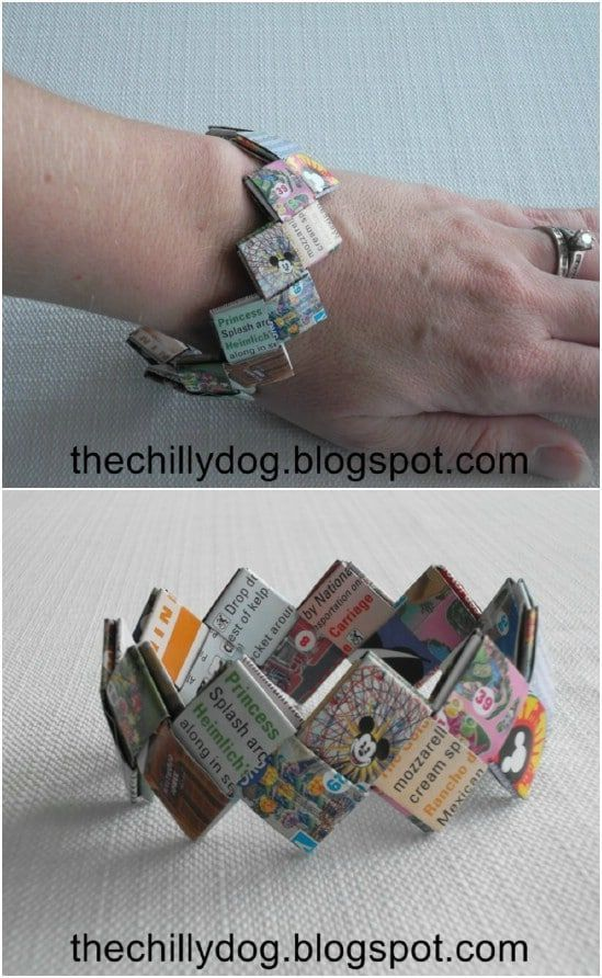 60 Best Disney Crafts For Kids That Will Keep Them #bracelet #Busy #Crafts #Disn...