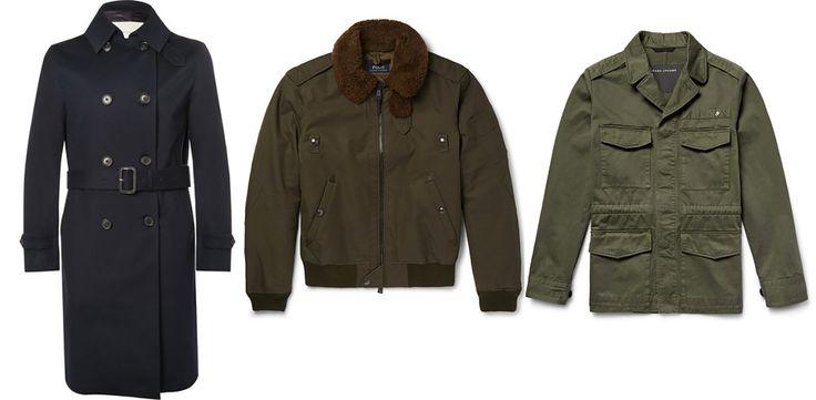 Dal peacot al modello aviator, dal parka al bomber, le giacche militari continuano a influenzare il nostro guardaroba. Anche per questo inverno
