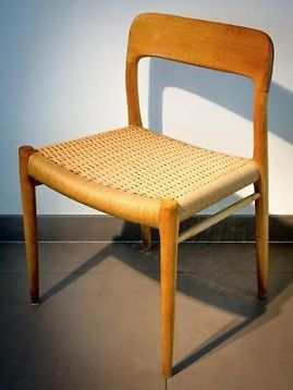 Vintage Retro Danish Niels O. Møller Chair Set Of 4