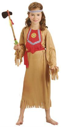 Kızıderili Kostümü, Kız Çocuk 4-6 Yaş