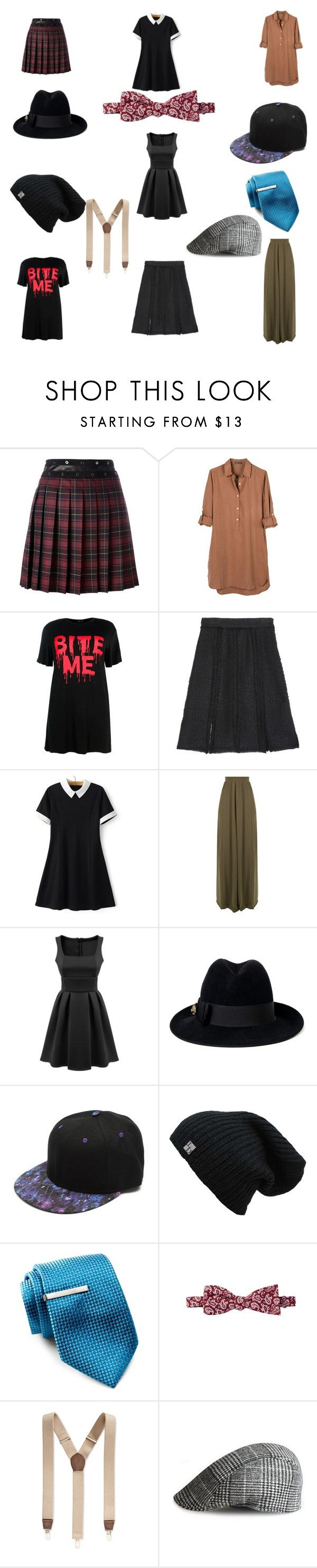 """""""FemBoi 7 Wonder Pt.2"""" by veganchefmarie on Polyvore featuring Giamba, United by Blue, Boohoo, Proenza Schouler, WithChic, Gucci, Broletto, 14th & Union and Club Room"""