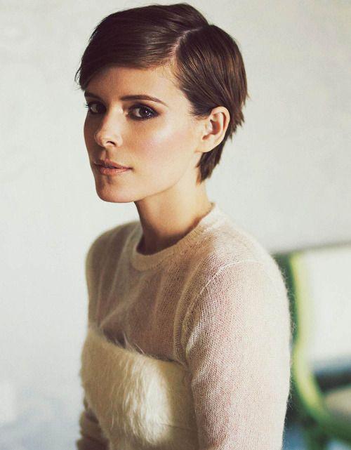 Kate Mara - good in-between growing out pixie