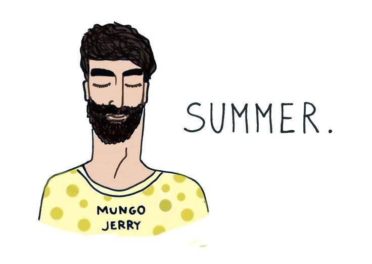 """summer"", print, B.Byra"