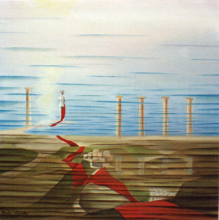 Milazzo - Nascita di Venera - Collezione privata - olio su tela - 50x50