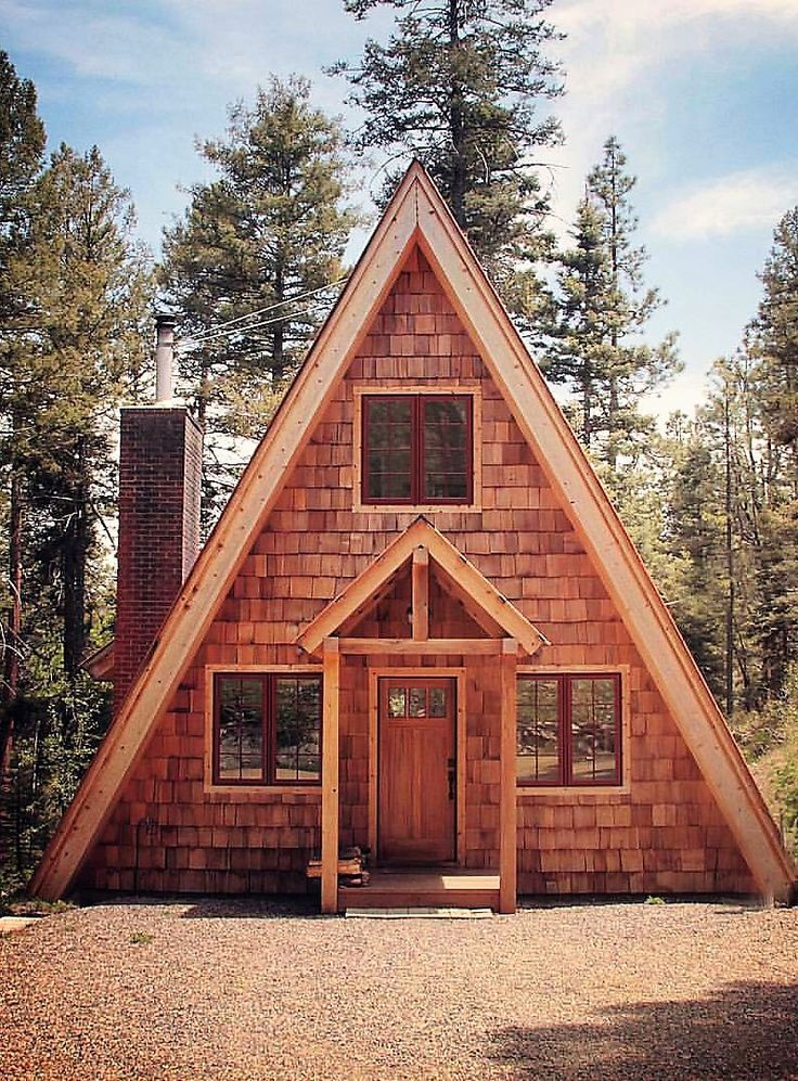 Beautiful Simple A Frame Cabin A Frame House Plans Tiny House Cabin A Frame Cabin Plans