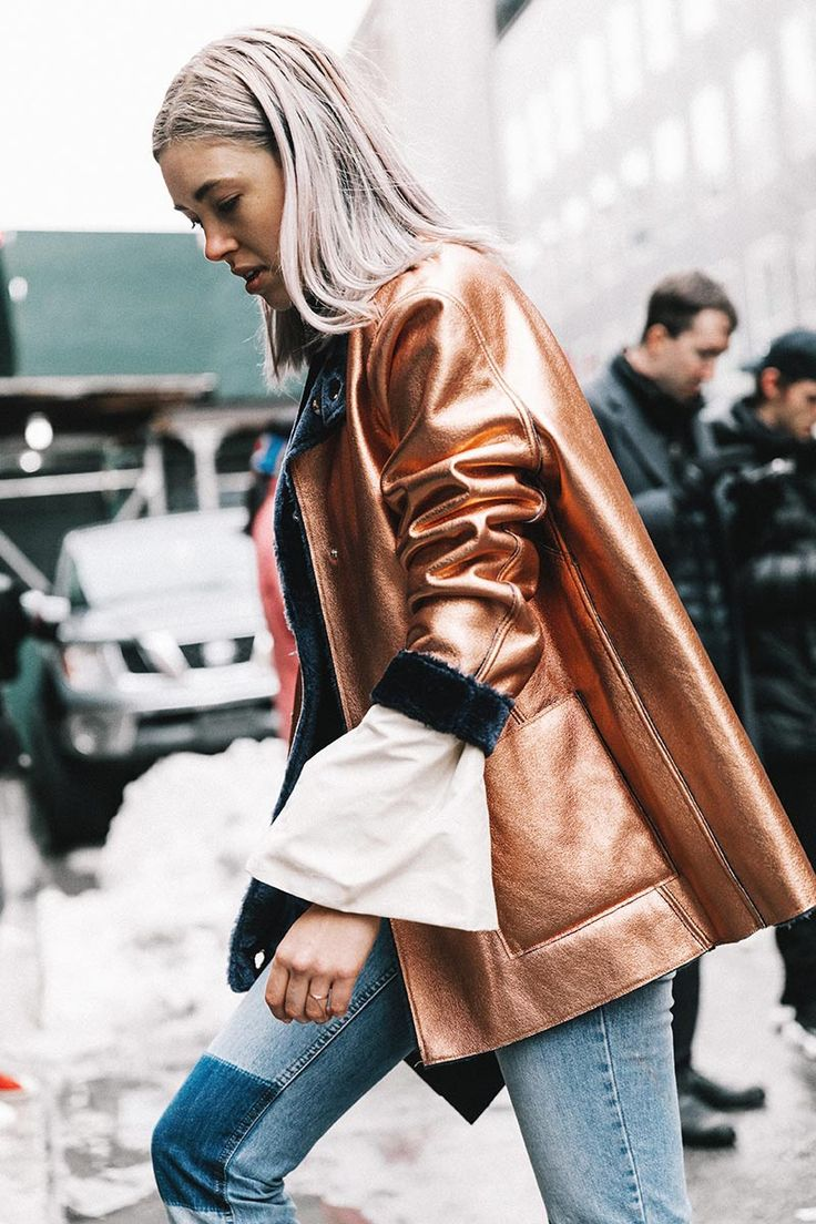 Can't stop obsessing over this rose gold coat