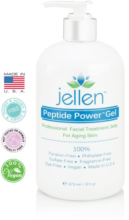 The #1 best-selling professional conductive facial machine gel alternative for use with ultrasonic, microcurrent, radio frequency and galvanic facial devices and machines. A safe and gentle alternative to harsh conductive spa gels that can actually harm the skin, rather than help it. Featuring 94% organic content, Peptide Power Gel is 100% free of harmful parabens, phthalates, sulfates, alcohol, artificial dyes and synthetic fragrances!
