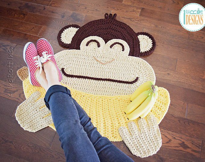 Crochet Pattern Jimmy The Hybrid Car Rug Pdf Crochet Pattern Etsy Crochet Rug Patterns Crochet Patterns Crochet Monkey