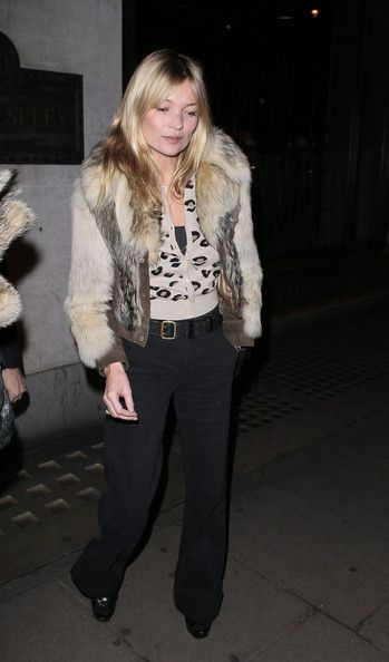 Kate Moss Photo - Kate Moss and Jamie Hince Dine Out