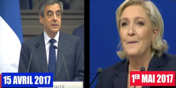 "Top News: ""FRANCE POLITICS: Marine Le Pen Plagiarises Fillon's Speech (Video)"" - http://politicoscope.com/wp-content/uploads/2017/05/FRANCE-POLITICS-Marine-Le-Pen-Plagiarises-Fillons-Speech.jpg - Marine Le Pen came under fire for lifting sections of a speech from a conservative rival, in what Le Pen aides said was a ""nod-and-a-wink"" to his voters.  on World Political News - http://politicoscope.com/2017/05/02/france-politics-marine-le-pen-plagiarises-fillons-speech-video/."