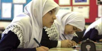 studentă musulmană
