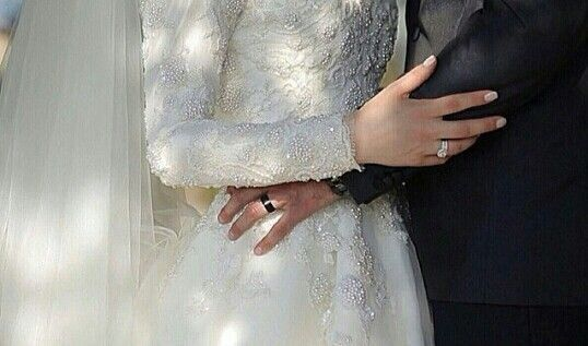 Muslim couple marriage