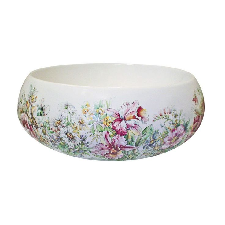 34 best Floral Hand Painted Sinks & Toilets images on ...