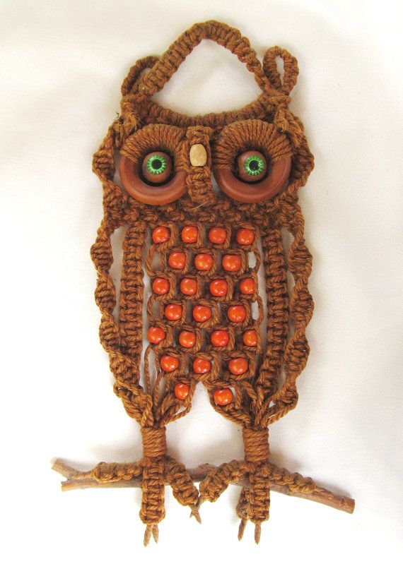 Best 200 Macrame Owl Images On Pinterest Macrame Owl
