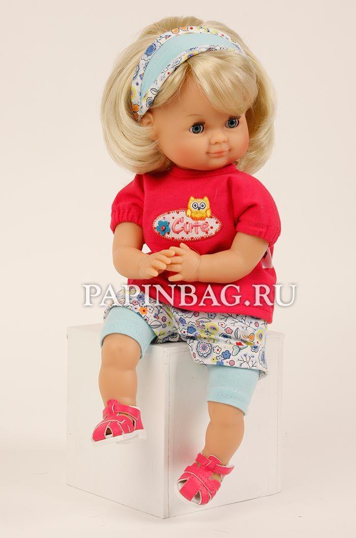 """Schildkrot (Германия) Кукла игровая """"Schlummerle"""", 32 см, Limited Edition, юбилейный выпуск http://papinbag.ru/?m=5637 Очаровательная девочка,чудесная игровая кукла-любимица! У куклы удобная длина волос - можно и хвостики делать, и укладывать в прически. Специальный выпуск немецких кукол для игр. Модель выпущена лимитированной партией и посвящена 50-летию начала выпуска этих кукол. Продается в фирменной коробке."""