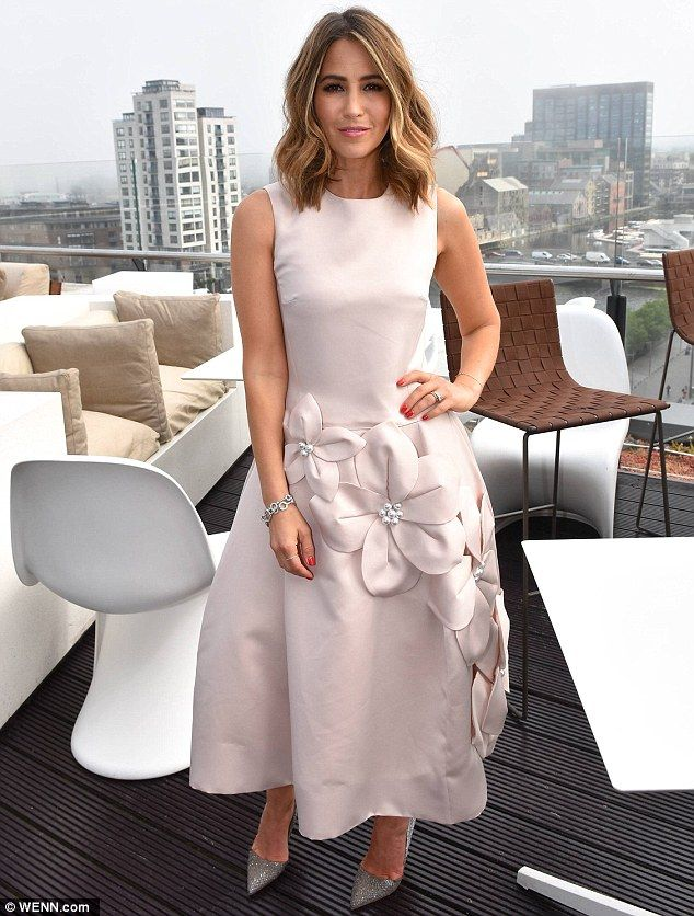 An ambassador of style: Attending the event at The Marker hotel, the 38-year-old singer pu...
