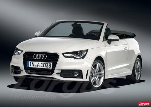 Audi A1 cabriolet - WANT!!!