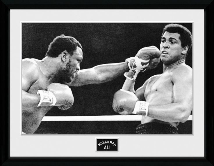 muhammad ali block big framed collector print the greatest boxer of all time pinterest - Muhammad Ali Framed Pictures
