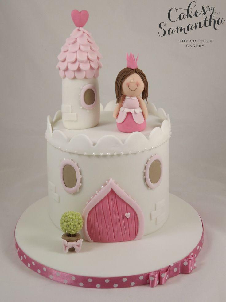 Cake Inspiration - 1 Tier, Round, Princess, Castle, Fairytale, Pretty