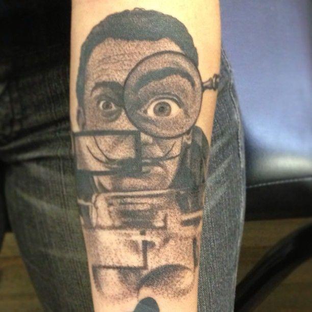 Tatuagem de Fillipe Pacheco. #tattoo #tatuagem #dali