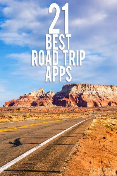 21 Best Road Trip Apps