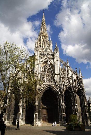 saint maclou cathedral at rouen france travel girl i. Black Bedroom Furniture Sets. Home Design Ideas