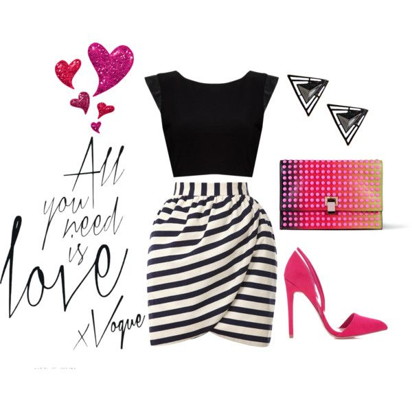 """""""Date Night Inverted Triangle Body"""" by lorraine-andrade-marques on Polyvore"""