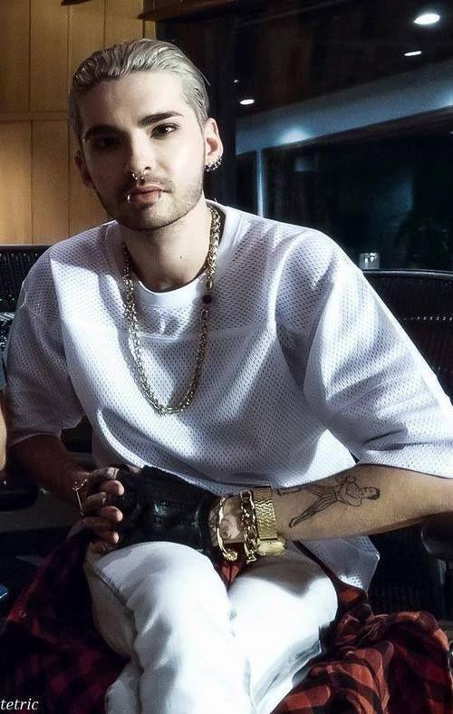 Immagine di bill kaulitz, tokio hotel, and piercing