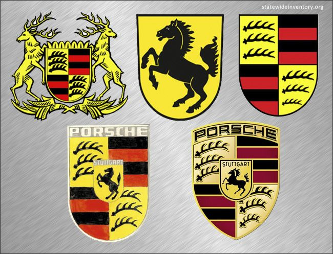 One of the most iconic auto logos, the Porsche logo survived more than half a century. You do not have to be a car enthusiast to recognize it as high-performance Porsche car