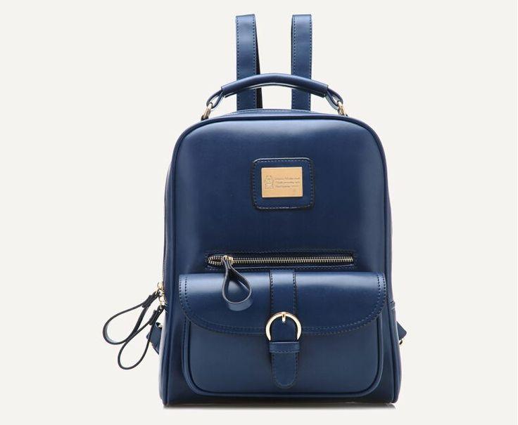 2016 Fashion Travel Bags Women PU Leather Backpack Women Fashion Backpacks Girl's School Bags mochila feminina D11-80