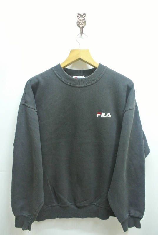 Vintage McGregor Sweatshirt Minimal Logo Sportswear Streetwear Pull Over Crew Neck Sweater Grey Color Size L 04xvSg