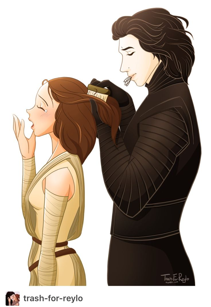 he knows something more about hair#reylo