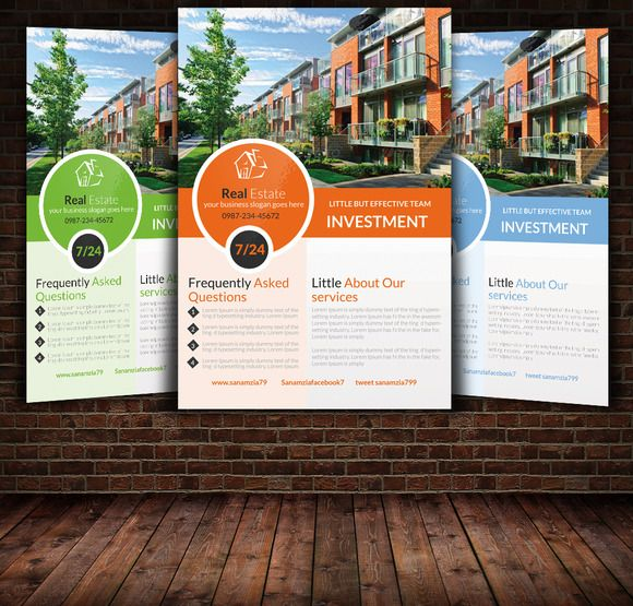 Best Flyers Images On   Real Estate Business Real