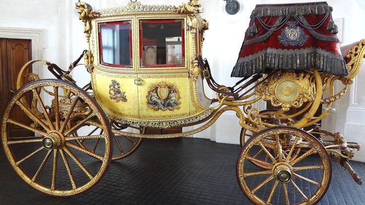 Royal Carriages at the Italian White House