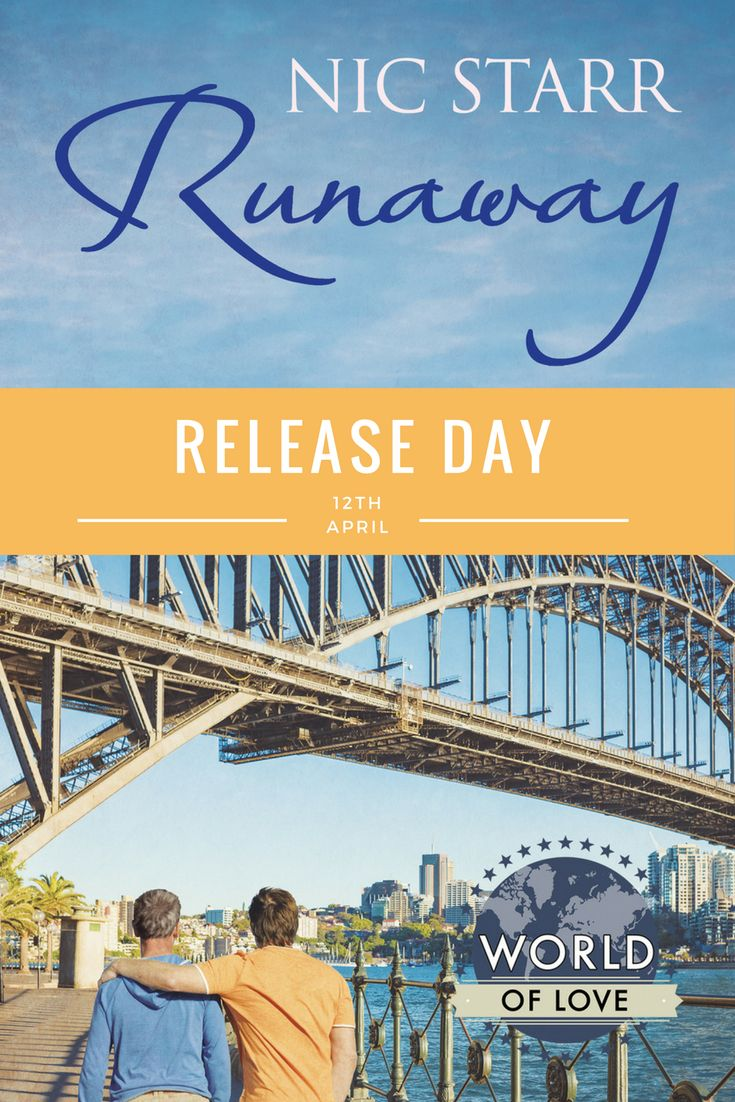Runaway by Nic Starr is now live. #mmromance #gayromance