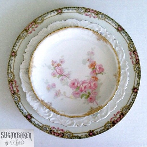 Sugarbaker & Toad Mismatched China - read what she has to say before collecting mismatched china!