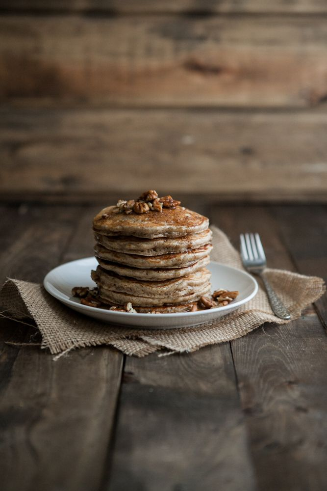 Brown Butter and Pecan Pancakes from @erin (naturally ella) - could ...