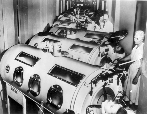What America Looked Like: Polio Children Paralyzed in Iron Lungs