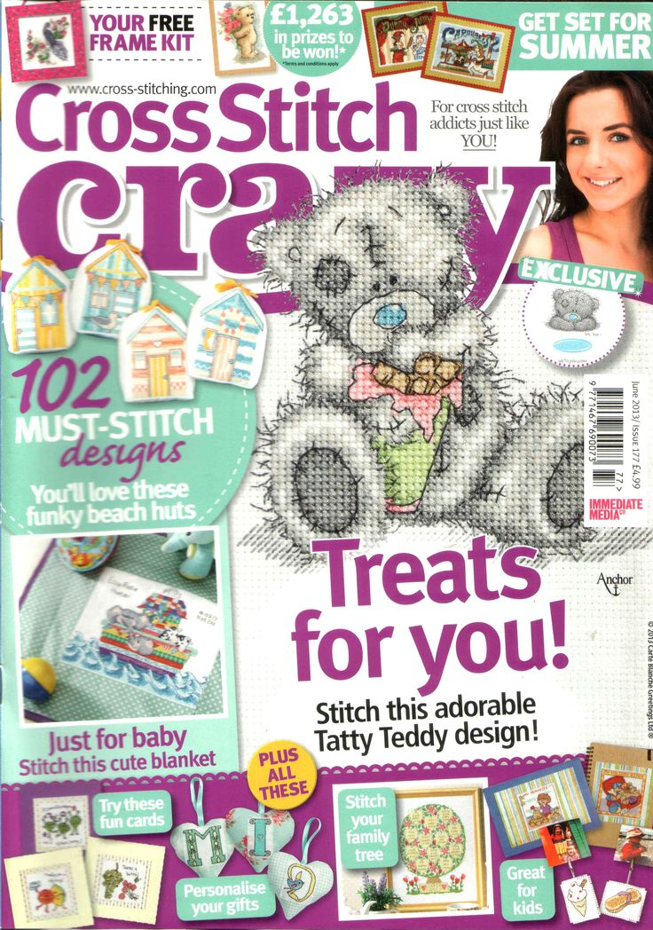 Cross Stitch Crazy Issue 177 patterns pinned