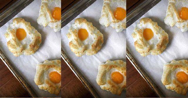 Bosan Sarapan dengan Menu Telur yang Itu Itu Saja? Bikin Telur Awan yuk! ini dia Resep dan Cara Membuatnya